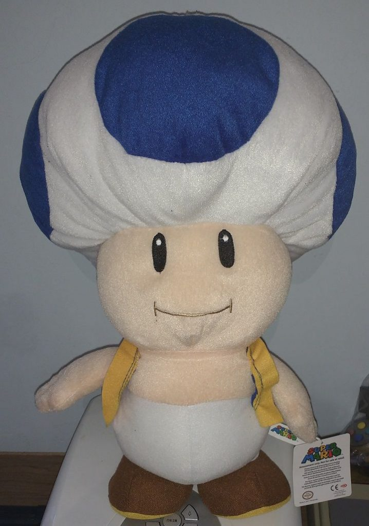 Toad Plush - Large - Blue