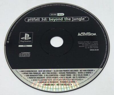 Promo Disc - Pitfall 3D: Beyond The Jungle
