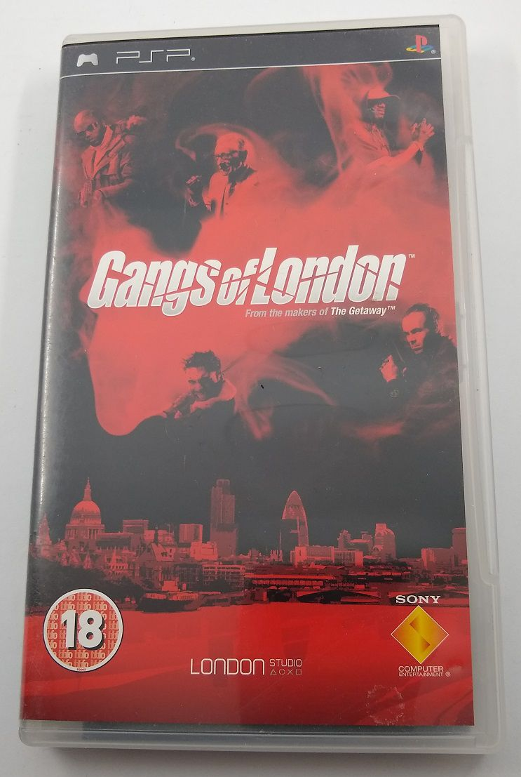 Buy Empty Box Gangs Of London Other Sony At Consolemad