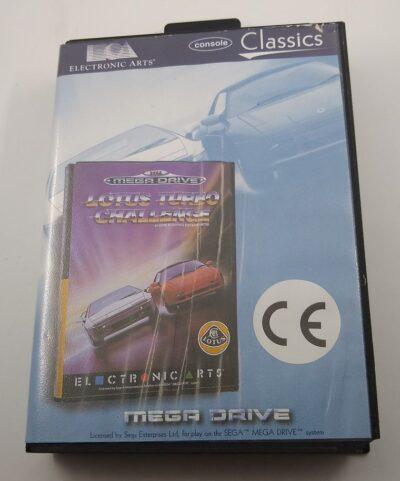 EMPTY BOX - Lotus Turbo Challenge