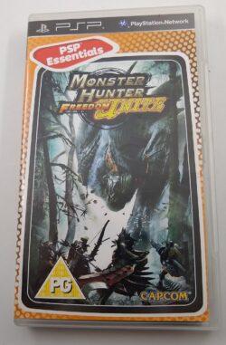 EMPTY BOX - Monster Hunter Freedom Unite