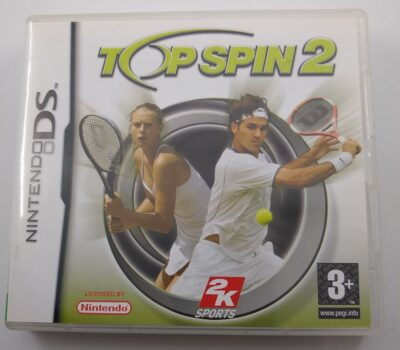 EMPTY BOX - Top Spin 2