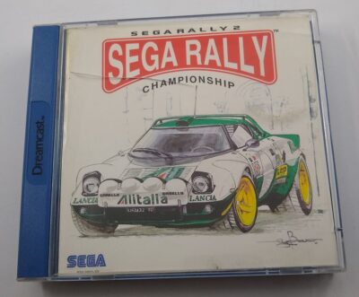 EMPTY BOX - Sega Rally 2