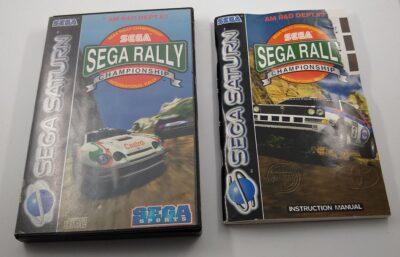 EMPTY BOX - Sega Rally Championship