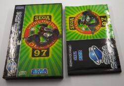 EMPTY BOX - Sega Worldwide Soccer 97
