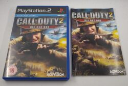 EMPTY CASE - Call Of Duty 2 - Big Red One