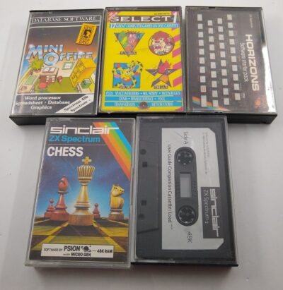 Five-Game Spectrum Cassette Bundle