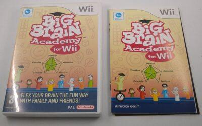 EMPTY CASE - Big Brain Academy For Wii