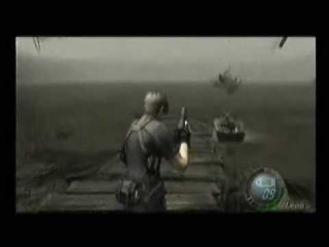 Resident Evil 4 Leon Video