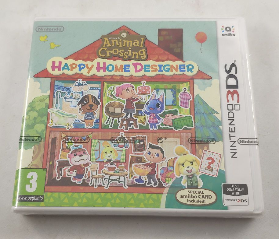 Buy Animal Crossing: Happy Home Designer (UK 3DS Games) at ConsoleMAD