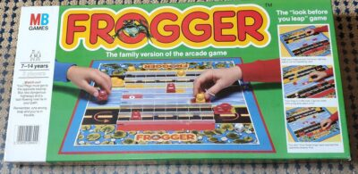 Frogger Board Game